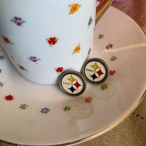 NFL Pittsburgh Steelers earrings